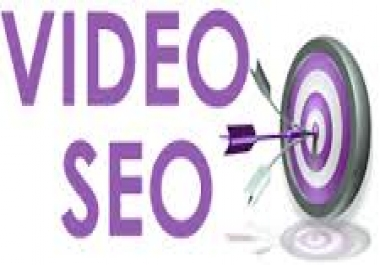 do Video SEO, Create and Submit your video in top tube sites with website link ..