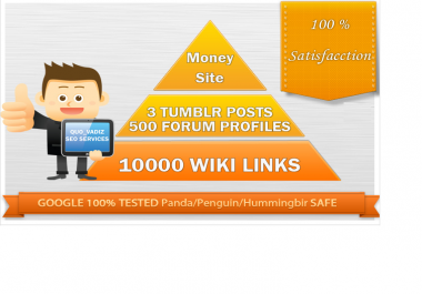 make link pyramid 3 Tumblr post,High PR profiles 10000 Wiki Links,Order Now