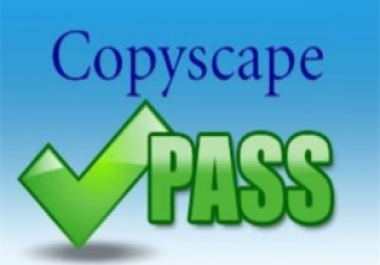 write 2 Articles each 500-1000 words Copyscape Pass