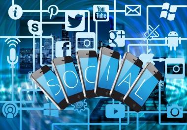 Help to Increase 1000 Social profile Followers