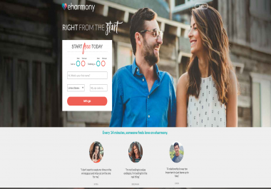 I will design any type of landing page for CPA offers to earn money