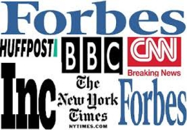 we do Provide Backlink From Forbes, Bbc, Huffpost Nytimes, Wsj Etc