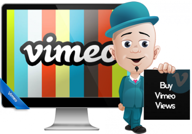 provide your 5,000 Vimeo Video Views Plays