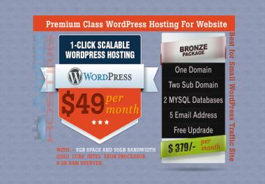 Buy Ever Best WordPress Hosting for your WordPress Site