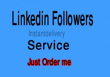 150 LinkedIn Follow only