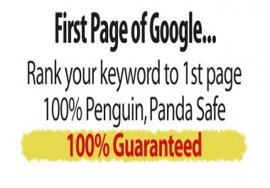 IMPROVE Sales, Traffic, ROI, Brand Awareness - 8 Keywords SEO VIP Pass to 1st PAGE on GOOGLE.