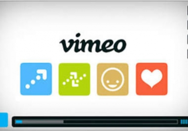give you 15 comments and 250 likes on Vimeo within 24hour