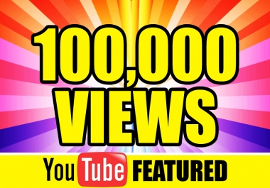 100,999+ YOUTUBE ADSENSE VIEWS and split  in 100 video Fast and SAFE DELIVERED IN ONLY 5 DAYS and 100 Like BONUS