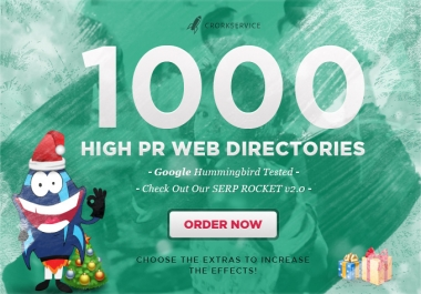 I will submit your site to 1000 High PR web directories, google friendly stop and buy!@##$%%^$