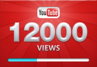 12099+ High RETENTION and SAFE YOUTUBE VIDEO VIEWS, INSTANT START, SEO Ranking 30 Like BONUS