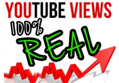 I Give You 1055++ You-Tube Views Without Harming Your You-Tube Video or Account and 30 Like BONUS
