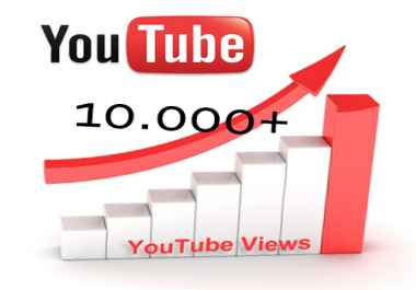 Provide HighRetention 10099+++ You-Tube views Can SPLIT in 10 video SAFE and FAST and 30 Like BONUS