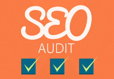 SEO Audit and Analysis of your website and make report to get guaranteed google ranking