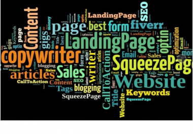 write perfect and most persuasive 100 Words for your Landing Page