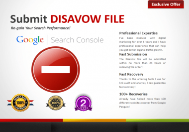 I will analyze harmful links and deliver full audit with disavow, analyze toxic links and create disavow file for remove bad backlinks