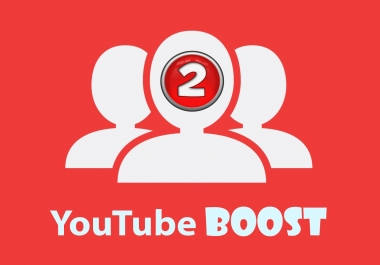YouTube Boost - 2000 views, 50 likes, 20 subscribers, 10 favorites & 3 comments