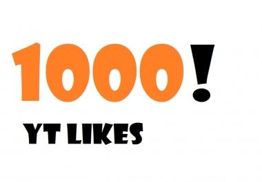 Extra Fast 1000 Youtube Likes