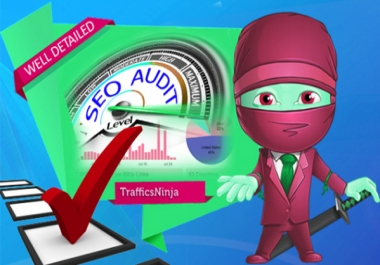 I will perform an extensive SEO Audit for your website to boost Search Engine Ranking
