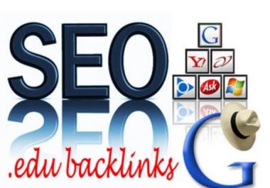 **manually create 5 DoFollow profile backlinks from high authority edu sites **