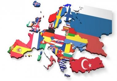 10000 EUROPE Website Traffic Visitors
