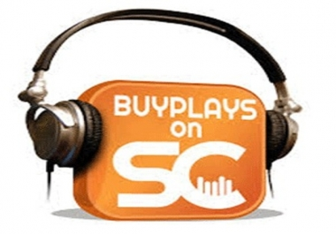 2000 SoundCloud plays per day, steady in 7 days - And other services