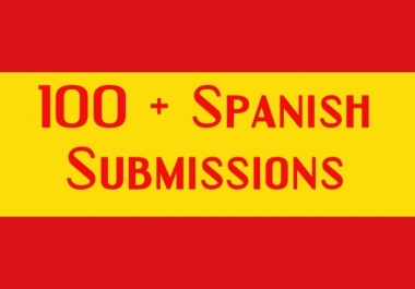 Submit 110 Spanish Web Directory Submissions,Spain for $13