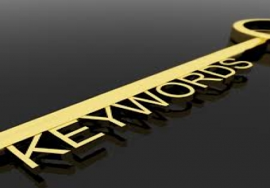 do In Depth seo Keyword Research, Golden Key Words../*/..