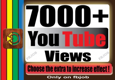Fast 7000+ Non Drop High Quality Adsense Safe and Life Time Guaranty Views for Your Video