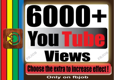 Fast 5000-6000+ Non Drop High Quality Adsense Safe and Life Time Guaranty Views for Your Video