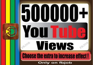 Fast 500000+ Non Drop High Quality Adsense Safe and Life Time Guaranty Views for Your Video