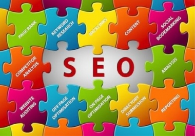I will get you GUARANTEED Ranking on Google Frist PAge with my Ultimate SEO Campaign
