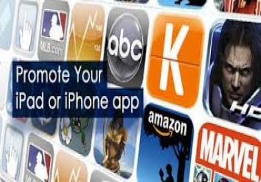 Complete Apple iOS  Apps Promotion