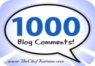 do 1000 edu Blog comments../*/..