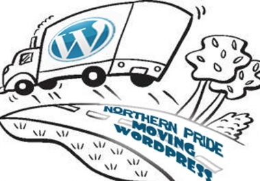 move Wordpress site to new host for you