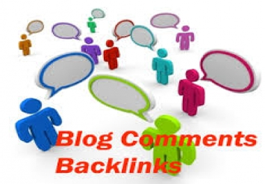 build 3000+ high pr blog comments backlinks,unlimited urls and keywords allowed,link report included