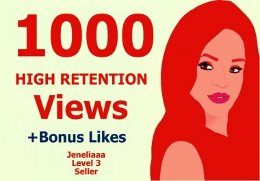 Instantly add 1000 High Quality Non Drop U Tube View  on your video