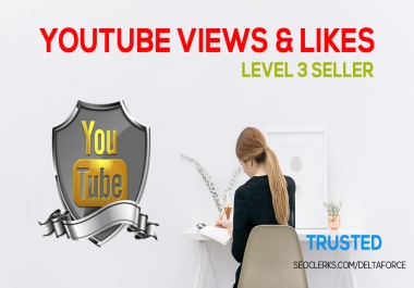 Get 1K or 1000 YouTube views & 100 Video Likes Just