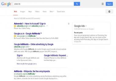write a killer Adwords advertising copy