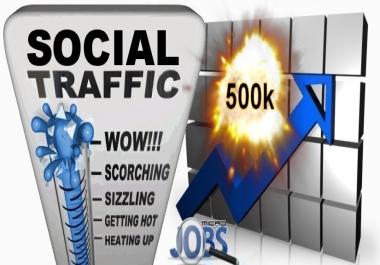 Social Media Traffic (500k)