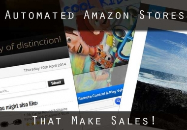 Create a high converting automated Amazon affiliate store