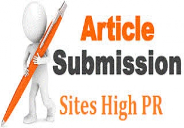 I will submit your Article TO High Ranking Article sites manually