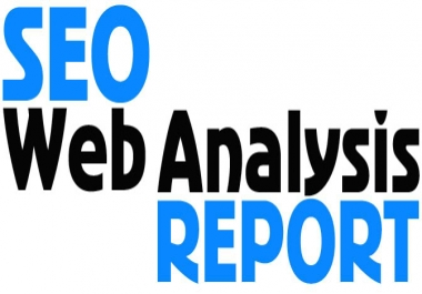 create a Detailed SEO report on any website you want and then send it to you in pdf format
