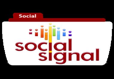 3000 Mixed Social Signals and Shares