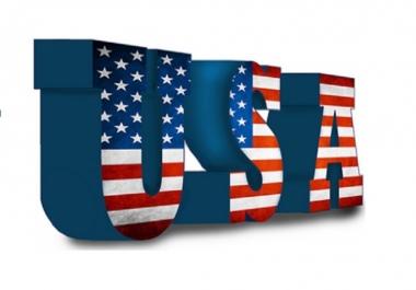 2500 USA Unique Website Traffic