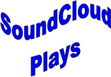 Provide  400  Soundcloud Plays in your Selected Track