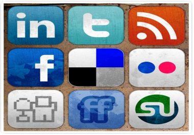 manually do 30 Social Bookmarking Submission, 20 Social Profiles & 10 Directory sites