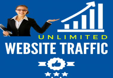 I Will Get You Real Visitor for Your Website 1 MONTH - Social Media Traffic