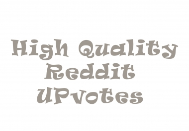 Give you 100 Reddit upvotes with real accounts
