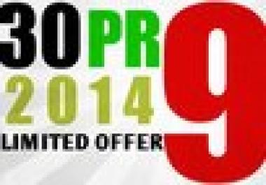I will manually do 30 PR9 Safe High Pr Backlinks dofollow edu