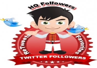 over 5000 High Quality Stable T witter Followers without Admin access